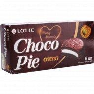 Печенье «Choco Pie» Lotte, какао, 168 г.