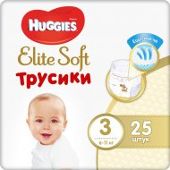Трусики-подгузники детские «Huggies» 6-11 кг, 25 шт.