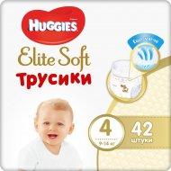Трусики-подгузники детские «Huggies» размер 4, 9-14 кг, 42 шт