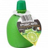 Заправка лимонная «Piacelli» со вкусом лайма для салатов и вторых блюд, 200 мл.