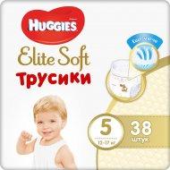 Трусики-подгузники детские «Huggies» 12-17 кг, размер 5, 38 шт