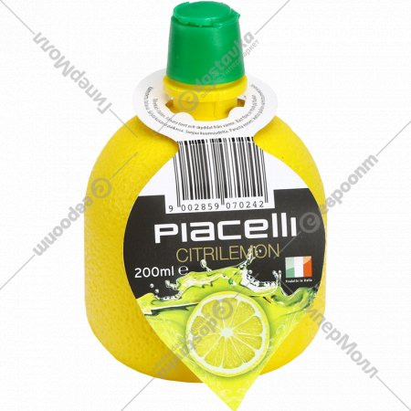 Заправка лимонная «Piacelli» для салатов и вторых блюд, 200 мл.