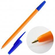 Ручка шариковая, красный стержень.