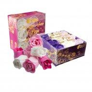 Мыльные цветы «Банные штучки» розы, 9 шт.