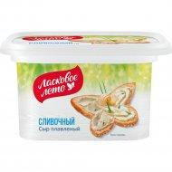 Сыр плавленный пастообразный «Ласковое лето» сливочный, 45%, 350 г.