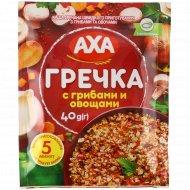 Каша гречневая «Аха» с грибами и овощами, 40 г.