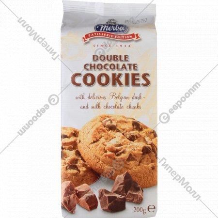 Печенье «Merba» два шоколада, 200 г.