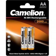 Комплект аккумуляторов «Camelion» NH-AA2000BP2, 2 шт
