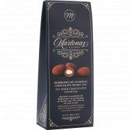 Драже «Mi&Cu» в тёмном шоколаде с карамелизированным миндалём, 80 г.