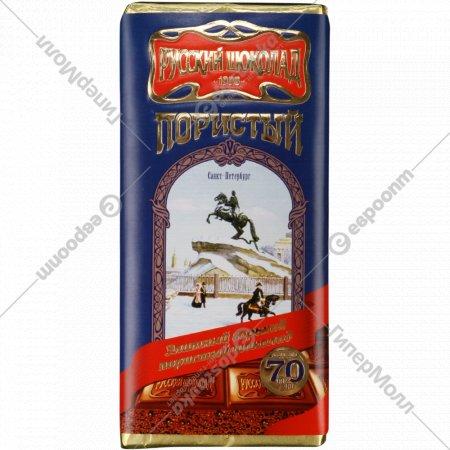 Шоколад горький «Элитный горький пористый» 90 г.