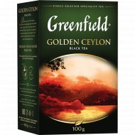 Чай черный «Greenfield» Golden Ceylon, 100 г.