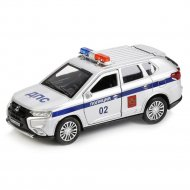 Машина «Mitsubishi Outlander» полиция.