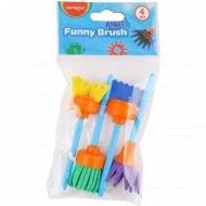 Кисти набор «Funny brush» фигурные, 4 шт.