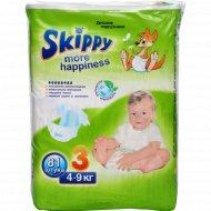 Подгузники «Skippy» more happiness 4-9 кг, 81 шт.