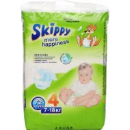 Подгузники «Skippy» more happiness 7-18 кг, 72 шт.