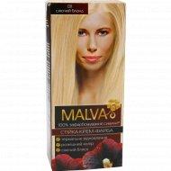 Крем-краска для волос «Malva» сияющий блонд 011.
