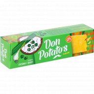 Чипсы «Don Potato's» со вкусом сметаны с луком, 100 г.