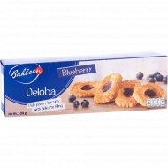 Печенье слоеное «Deloba» с черничным желе, 100 г