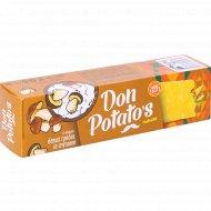 Чипсы «Don Potato's» со вкусом белых грибов со сметаной, 100 г.