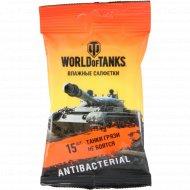 Салфетки влажные «Smile» World of Tanks, 15 шт.