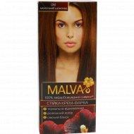 Крем-краска для волос «Malva» молочный шоколад 061.