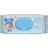 Салфетки влажные детские «Smile Baby» 100 шт.