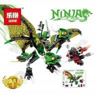Конструктор «Lepin» 39008, Зелёный Дракон Ллойда.