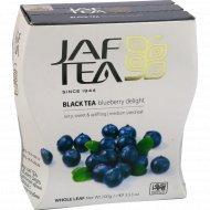 Чай черный «Jaf Tea» blueberry delight, 100 г.