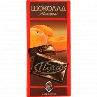 Шоколад молочный «Идеал» с абрикосом, 100 г.