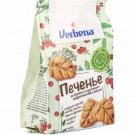 Печенье «Verbena» из бузины с кусочками американской клюквы, 90 г.