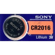 Элемент питания «Sony» Lithium CR2016, 1 шт.