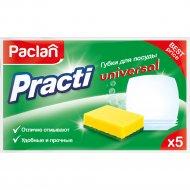 Губки для посуды «Paclan Practi Universal» 5 шт.