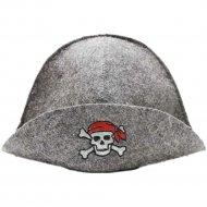 Шапка банная «ГлавБаня» Пират, Б40122