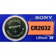 Элемент питания «Sony» Lithium CR2032, 1 шт.
