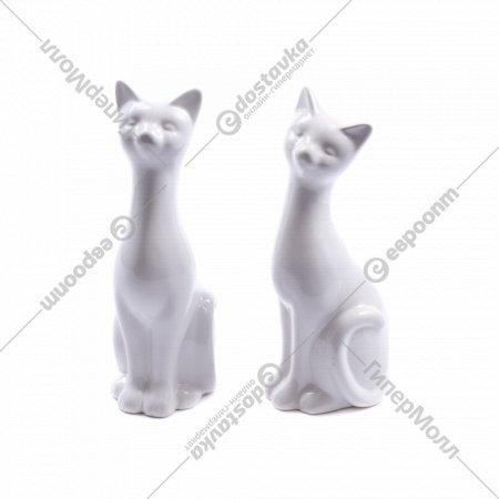 Статуэтка керамическая «Кот» 8х6х20 см.