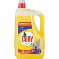 Средство «Fairy» Sensitive, для мытья посуды, сочный лимон, 5 л.