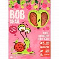 Фруктово-ягодные роллы «Bob Snail» яблочно-малиновые, 60 г.
