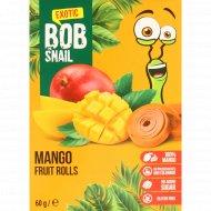 Фруктовый ролл «Bob Snail» манговый, 60 г.