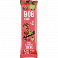 Фруктовая полоска «Bob snail» яблочно-клубничная, 14 г