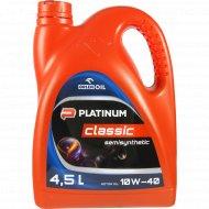 Масло моторное «Platinum Classic Semisynthetic 10W/40» 4.5 л.