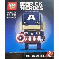 Конструктор «Lepin» 43015, Капитан Америка.