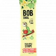 Фруктовая полоска «Bob snail» грушево-яблочная, 14 г