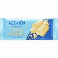 Шоколад пористый «Roshen» белый, 85 г.