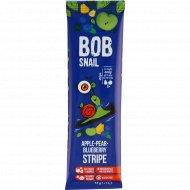 Фруктовая полоска «Bob snail» яблочно-грушево-черничная, 14 г