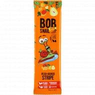 Фруктовая полоска «Bob snail» грушево-манговая, 14 г