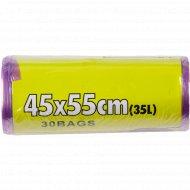 Пакеты для мусора 45 х 55 см, 35 л.