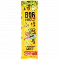 Фруктовая полоска «Bob snail» грушево-ананасовая, 14 г