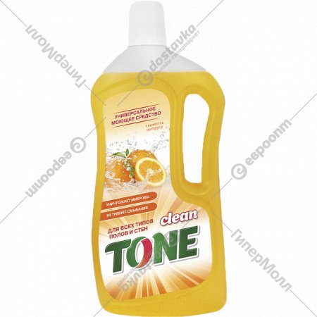 Моющее средство «Clean Tone» свежесть цитруса, 1 л.