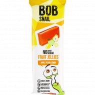 Мармелад фруктовый «Bob snail» яблоко-груша-лимон, 38 г.