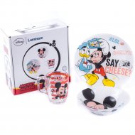 Набор для завтрака «Disney» Party Mickey, 3 предмета